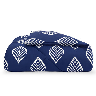 Blue Waverly Comforter