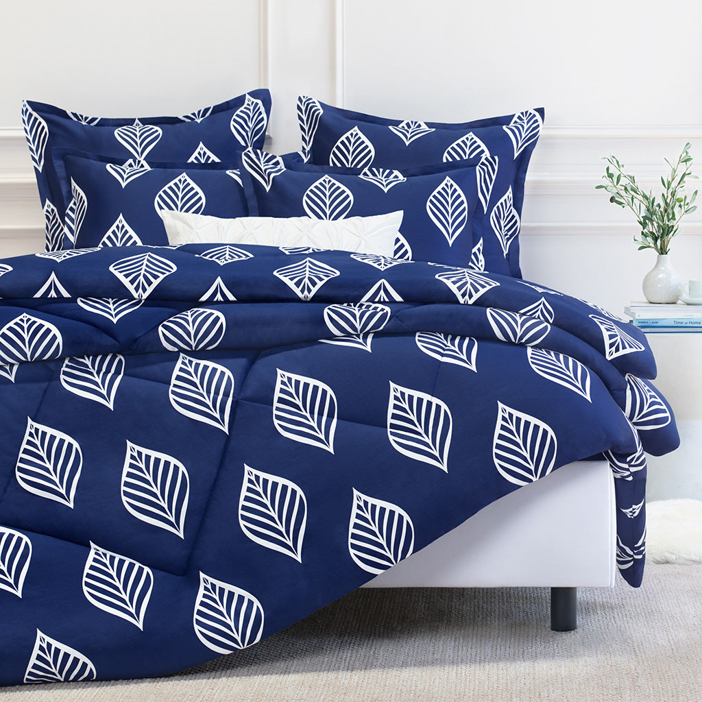 Bedroom inspiration and bedding decor | The Waverly Blue Comforter Duvet Cover | Crane and Canopy