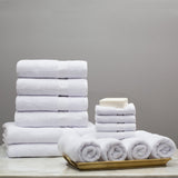 Classic White Towel Resort Bundle (4 Wash + 4 Hand + 4 Bath Towels + 2 Bath Sheets)