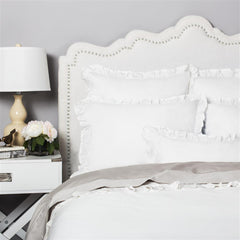 Great site for designer bedding | The Vienna Soft White