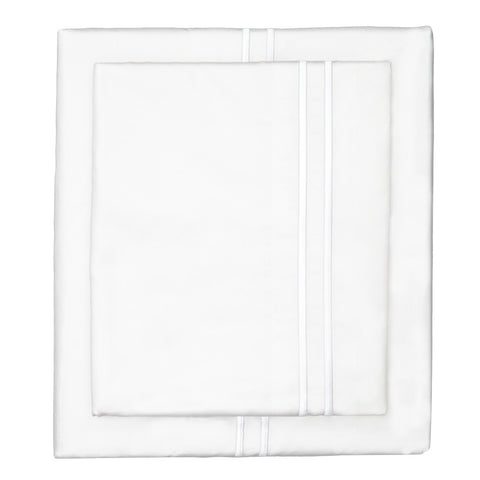 The White Lines Embroidered Sheet Set