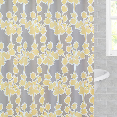 Bedroom inspiration and bedding decor | The Yellow Ashbury Shower Curtain Duvet Cover | Crane and Canopy