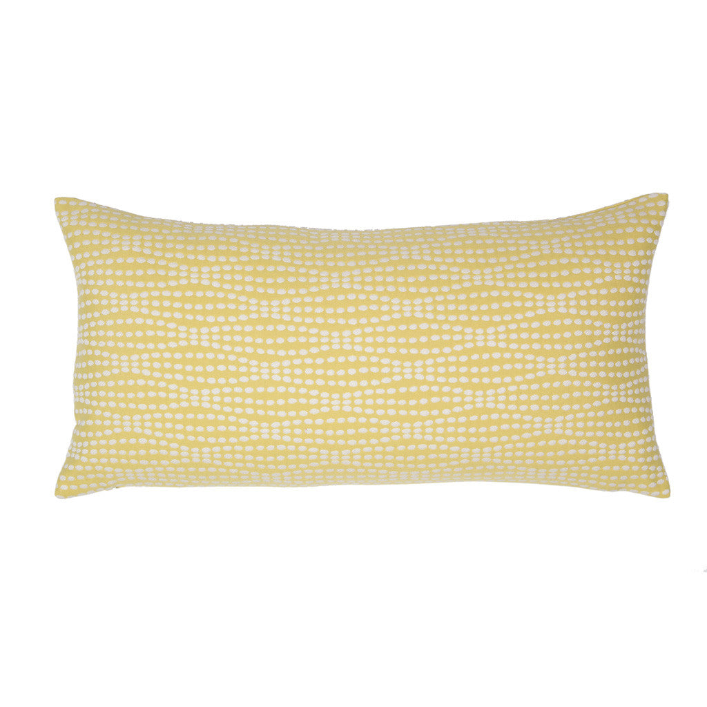 Bedroom inspiration and bedding decor | The Yellow Dots Throw Pillows | Crane and Canopy