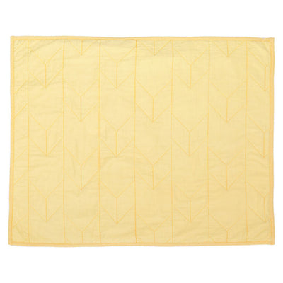 Yellow Chevron Quilt Sham