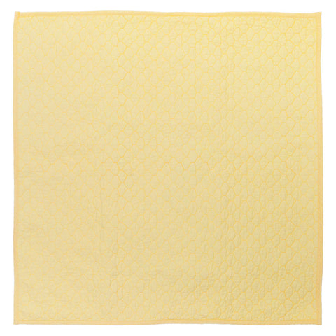 Yellow Cloud Quilt Euro Sham