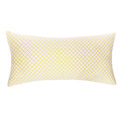 Bedroom inspiration and bedding decor | The Yellow Cloud Throw Pillows | Crane and Canopy