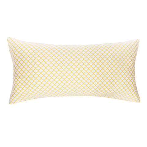The Yellow Cloud Throw Pillow