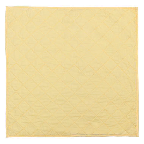 Yellow Diamond Quilt Euro Sham