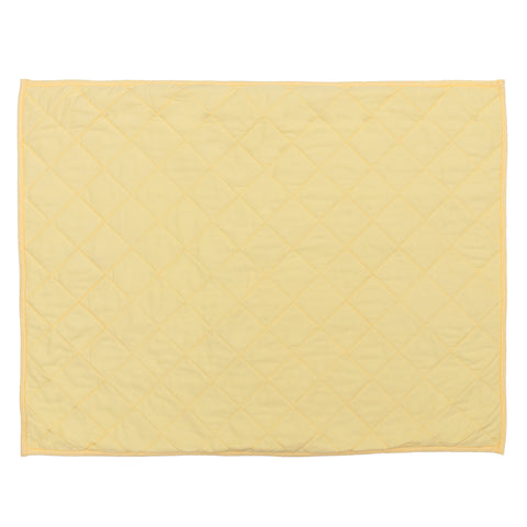 Yellow Diamond Quilt Sham