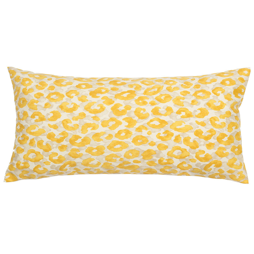 Bedroom inspiration and bedding decor | The Marigold Leopard Throw Pillows | Crane and Canopy