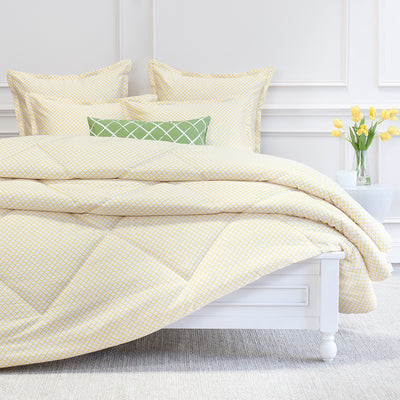 Page Yellow Comforter