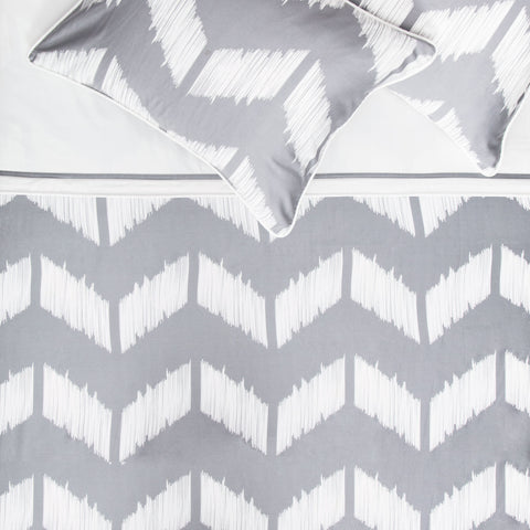 Bedroom inspiration and bedding decor | The Addison Gray Duvet Cover | Crane and Canopy