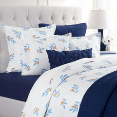 Bedroom inspiration and bedding decor | The Alma Blue | Crane and Canopy