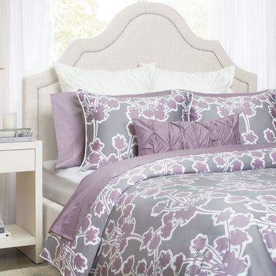 bedroom inspiration and bedding decor the lilac pintuck throw pillows crane and canopy - Liliac Bedding