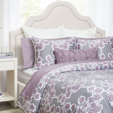 Bedroom inspiration and bedding decor | The Ashbury Lilac | Crane and Canopy