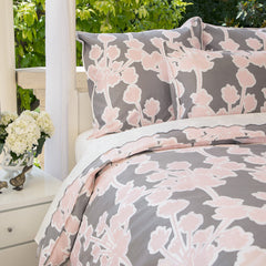 Bedroom inspiration and bedding decor | The Ashbury Pink | Crane and Canopy