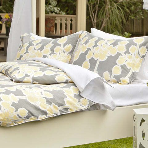 Bedroom inspiration and bedding decor | The Ashbury Yellow | Crane and Canopy
