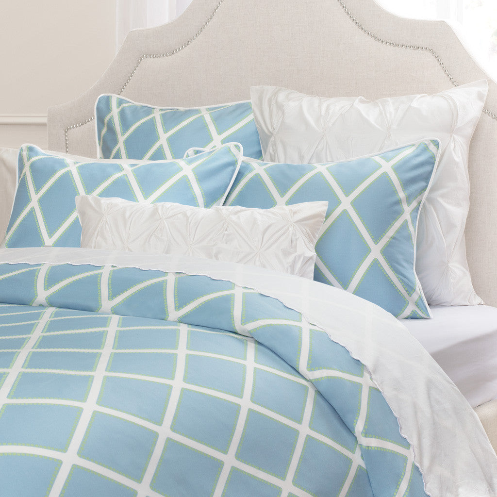 Light blue bedding - Bedroom Inspiration And Bedding Decor The Avery Blue Duvet Cover Crane And Canopy