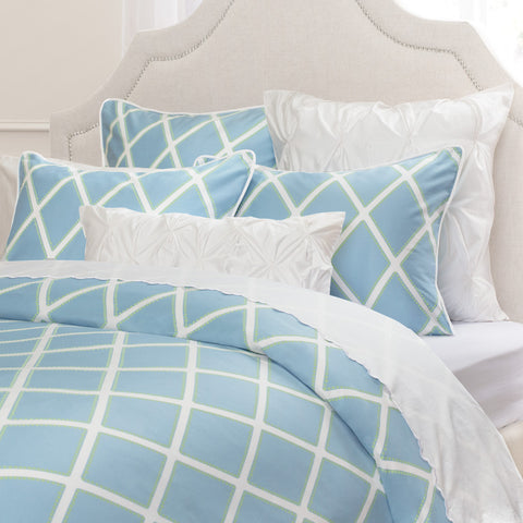 Bedroom inspiration and bedding decor | The Avery Blue Duvet Cover | Crane and Canopy