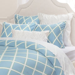 Bedroom inspiration and bedding decor | The Avery Blue | Crane and Canopy