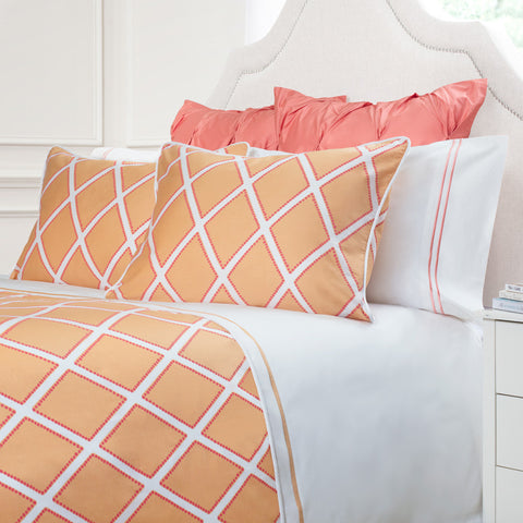 Bedroom inspiration and bedding decor | The Avery Citrus Duvet Cover | Crane and Canopy