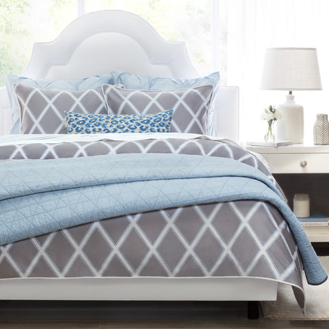 Bedroom inspiration and bedding decor | The Avery Grey Duvet Cover | Crane and Canopy