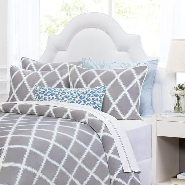 Bedroom inspiration and bedding decor | Grey Avery Duvet Cover Duvet Cover | Crane and Canopy