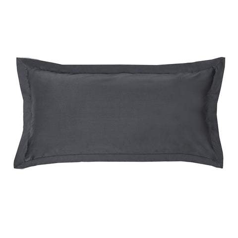 Bedroom inspiration and bedding decor | The Peninsula Charcoal Grey Throw Pillow | Crane and Canopy