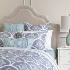 Great site for designer bedding | The Clementina Grey