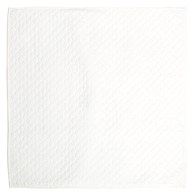 Soft White Cloud Quilt Euro Sham