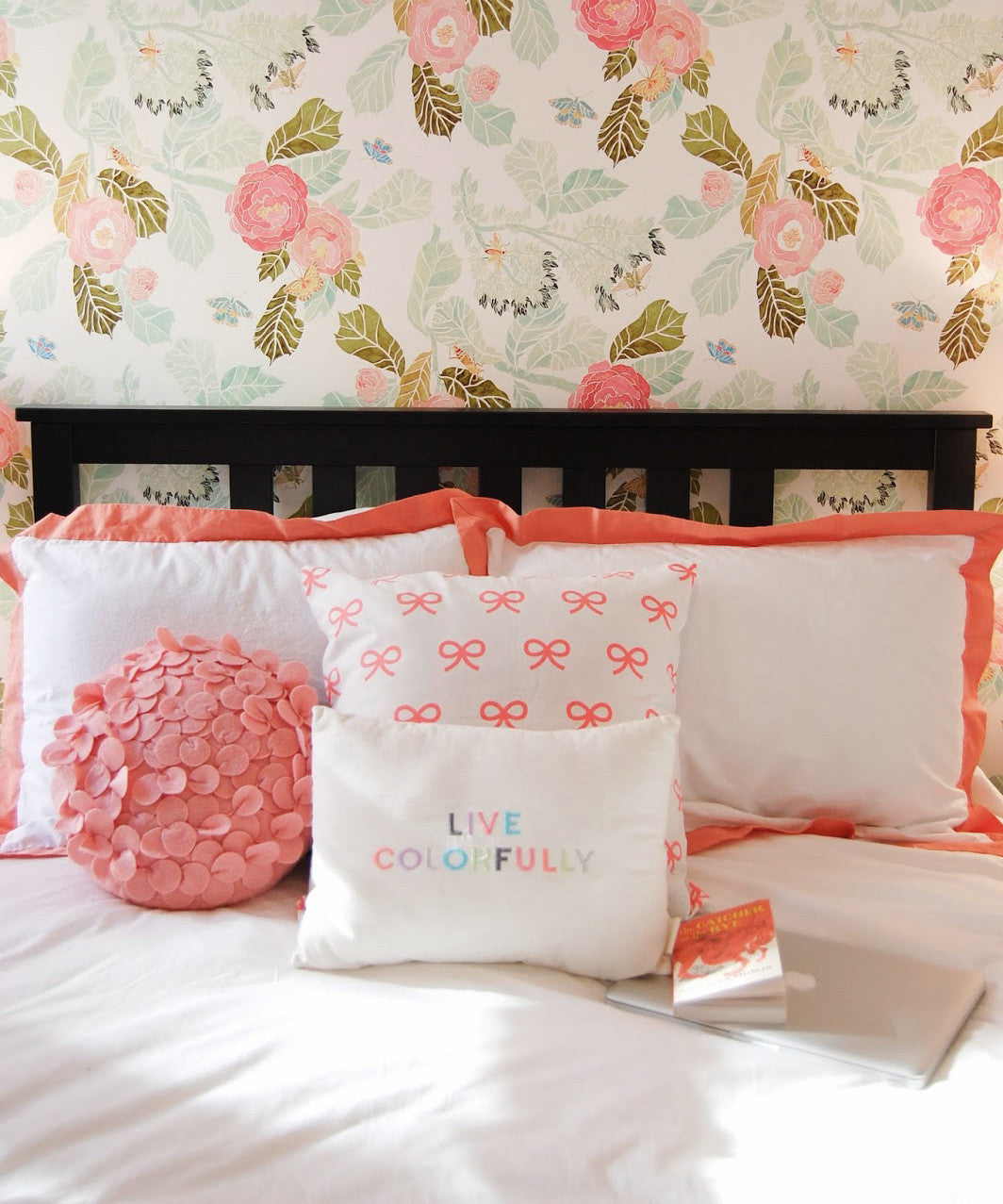 Crane and Canopy Designer Bedding as seen in The College Prepster