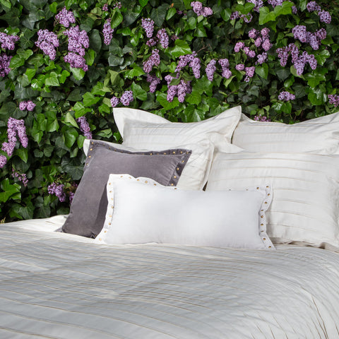 Bedroom inspiration and bedding decor | The Cortland Off-White Duvet Cover | Crane and Canopy
