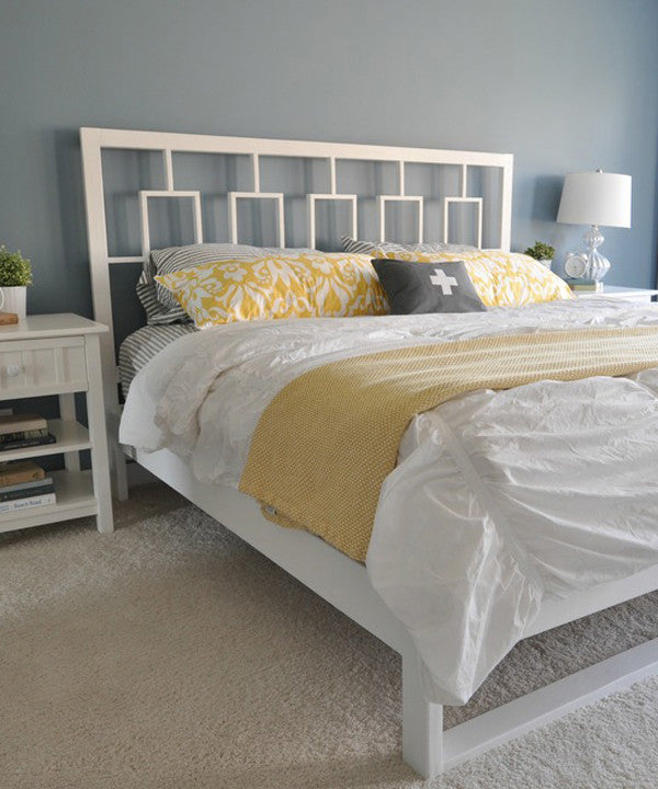 Crane and Canopy Designer Bedding as seen in Decor and the Dog
