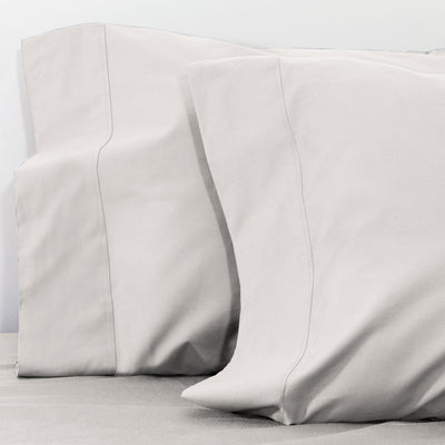 Dove Grey 400 Thread Count Pillow Case