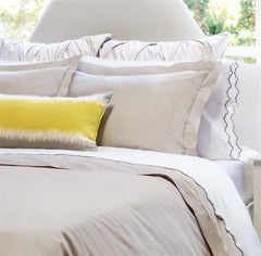 Great site for designer bedding | The Peninsula Dove Grey