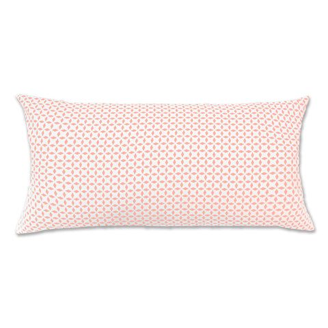 Bedroom inspiration and bedding decor | The Coral Morning Glory Throw Pillow | Crane and Canopy