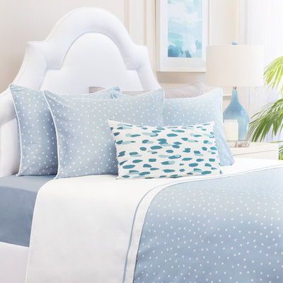Bedroom inspiration and bedding decor | Blue Elsie Duvet Cover Duvet Cover | Crane and Canopy