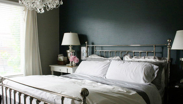 Crane and Canopy Designer Bedding as seen in Emily Jones Design