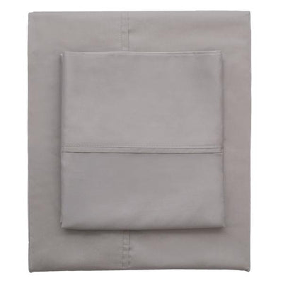 English Grey 400 Thread Count Sheet Set 2 (Fitted & Pillow Cases)