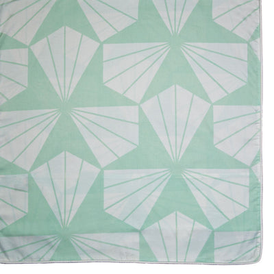Mint Green Taylor Duvet Cover Set (Duvet Cover and Two Shams)