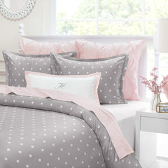 Bedroom inspiration and bedding decor | The Flora Grey | Crane and Canopy