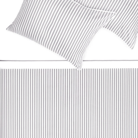 Bedroom inspiration and bedding decor | The Larkin Grey Duvet Cover | Crane and Canopy