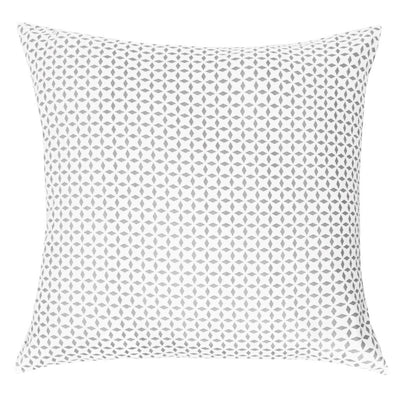 Bedroom inspiration and bedding decor | Grey Morning Glory Throw Pillow Duvet Cover | Crane and Canopy