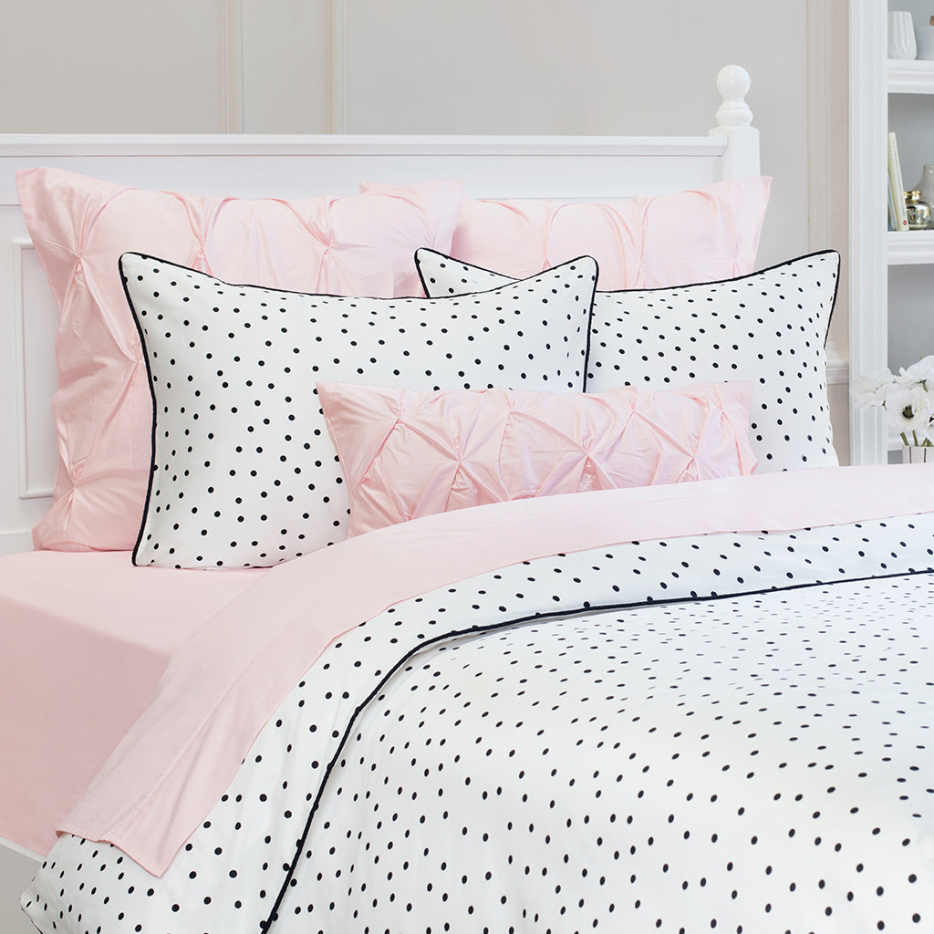 Bedroom inspiration and bedding decor the harper black and white duvet cover crane and