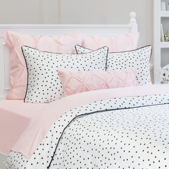Great site for designer bedding | The Harper Black and White