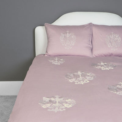 Bedroom inspiration and bedding decor | The Lafayette Pink Duvet Cover | Crane and Canopy