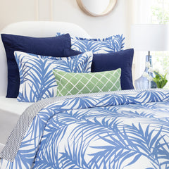Bedroom inspiration and bedding decor | The Laguna Blue | Crane and Canopy