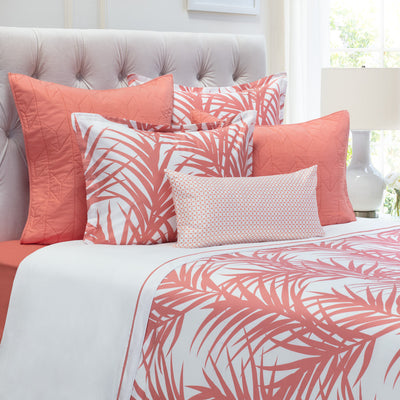 Bedroom inspiration and bedding decor | The Laguna Coral Duvet Cover | Crane and Canopy