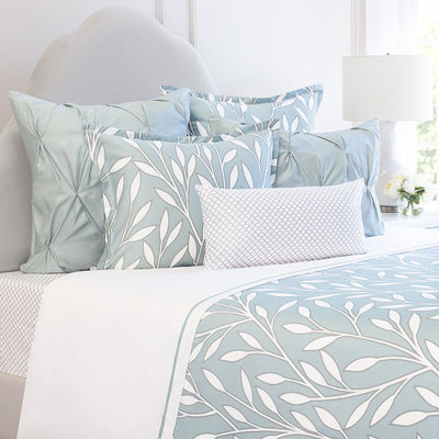Bedroom inspiration and bedding decor | Laurel Green Euro Sham Duvet Cover | Crane and Canopy