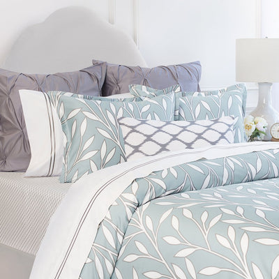 Bedroom inspiration and bedding decor | Laurel Green Duvet Cover Duvet Cover | Crane and Canopy
